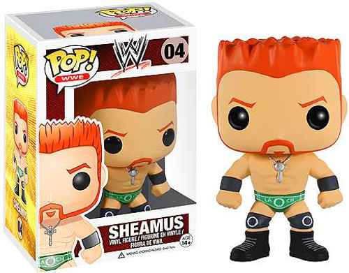 WWE Wrestling Funko POP! Sheamus Vinyl Figure #04