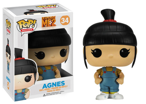 Despicable Me 2 Funko POP! Movies Agnes Vinyl Figure #34