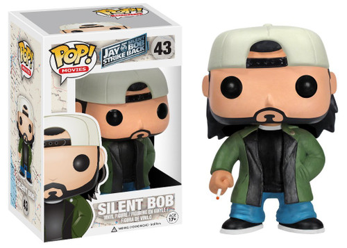 Jay & Silent Bob Strike Back Funko POP! Movies Silent Bob Vinyl Figure #43