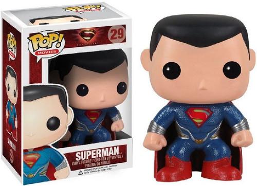 Man of Steel Funko POP! Heroes Superman Vinyl Figure #29