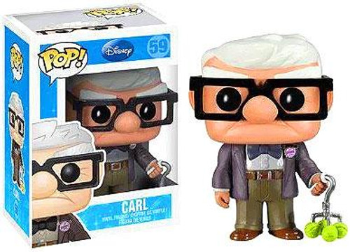 Up Funko POP! Disney Carl Vinyl Figure #59