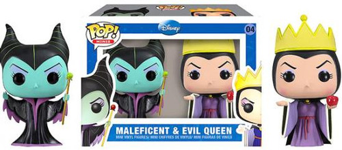 Sleeping Beauty Funko POP! Disney Maleficent & Evil Queen Mini Figure 2-Pack #04