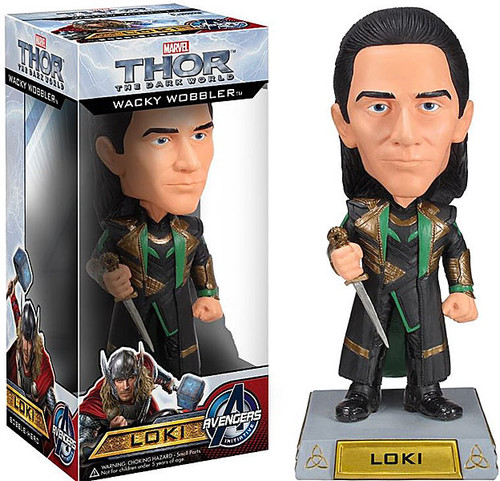 Funko Thor The Dark World Wacky Wobbler Loki Bobble Head