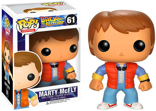 Back to the Future Funko POP! Movies Marty McFly Vinyl Figure #61