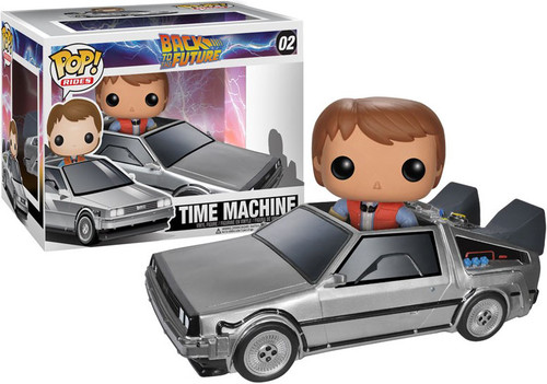 Back to the Future Funko POP! Movies Time Machine Delorean Vinyl Figure #02