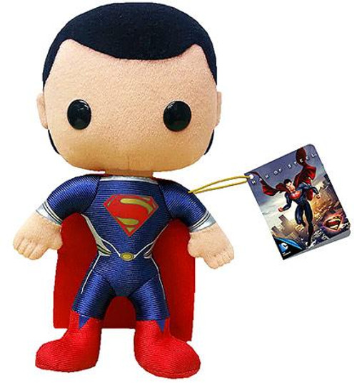 Man of Steel Funko 5 Inch Plushies Superman Plush [Man of Steel]