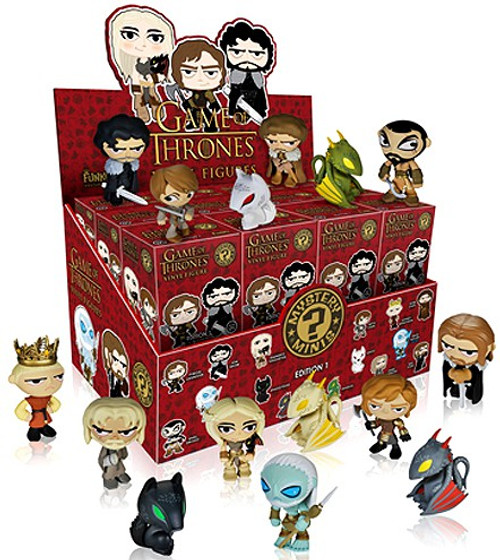 Funko Game of Thrones Series 1 Mystery Minis Mystery Box [24 Packs]