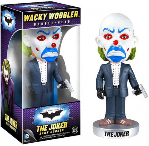 Funko Batman The Dark Knight Wacky Wobbler The Joker Bobble Head [Bank Robber]