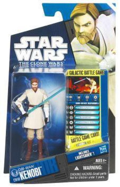 Star Wars The Clone Wars Clone Wars 2011 Obi-Wan Kenobi Action Figure CW40