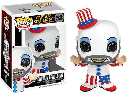 Funko House of 1000 Corpses Captain Spaulding Vinyl Bobble Head