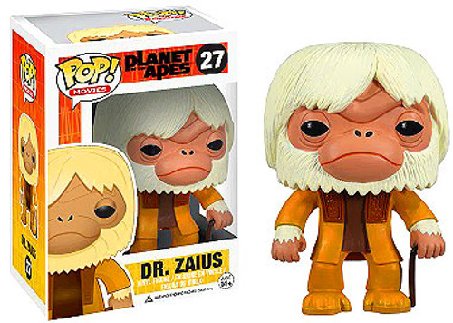 Planet of the Apes Funko POP! Movies Dr. Zaius Vinyl Figure #27
