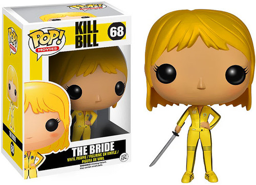 Kill Bill Funko POP! Movies The Bride Vinyl Figure #68