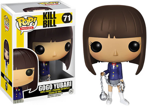 Kill Bill Funko POP! Movies Gogo Yubari Vinyl Figure #71