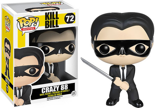 Kill Bill Funko POP! Movies Crazy 88 Vinyl Figure #72