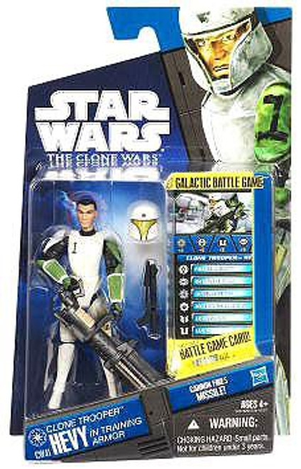 Star Wars The Clone Wars Clone Wars 2011 Clone Trooper Hevy Action Figure CW41 [Training Armor]
