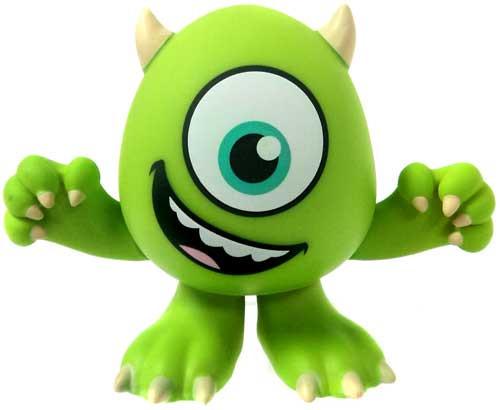 Funko Disney / Pixar Monsters Inc Mystery Minis Series 1 Mike Wazowski Vinyl Mini Figure [Happy Face, Eye Wide Open]