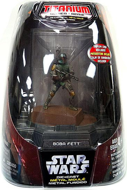 Star Wars Return of the Jedi Titanium Series 2006 Boba Fett Diecast Figure [Original Finish]
