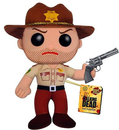 Walking Dead Funko 5 Inch Plushies Rick Grimes Plush