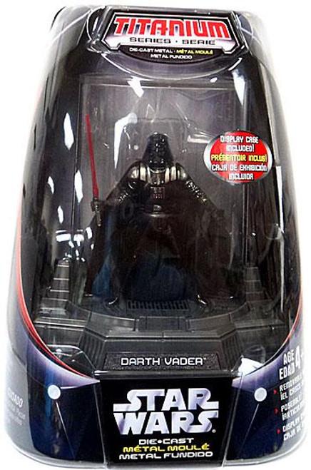 Star Wars Empire Strikes Back Titanium Series 2006 Darth Vader Diecast Figure [Original Finish]