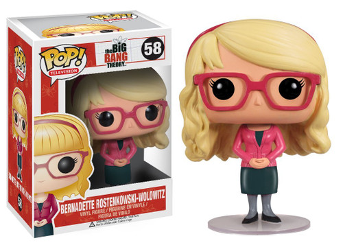 The Big Bang Theory Funko POP! Television Bernadette Rostenkowski-Wolowitz Vinyl Figure #58