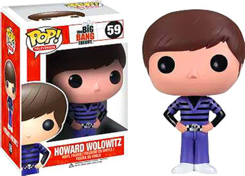 The Big Bang Theory Funko POP! Television Howard Wolowitz Vinyl Figure #59