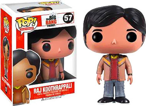 The Big Bang Theory Funko POP! Television Raj Koothrappali Vinyl Figure #57