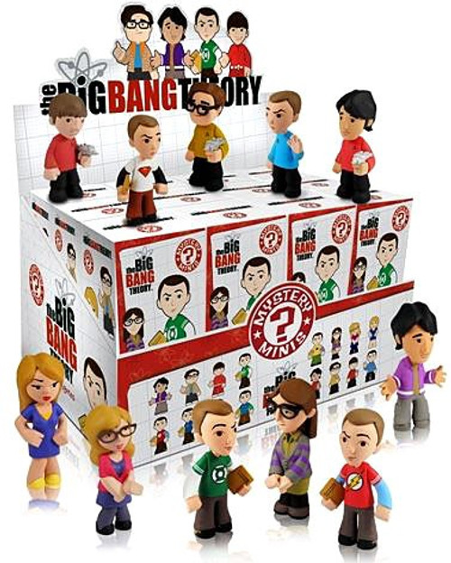 Funko The Big Bang Theory Mystery Minis Mystery Box [24 Packs]