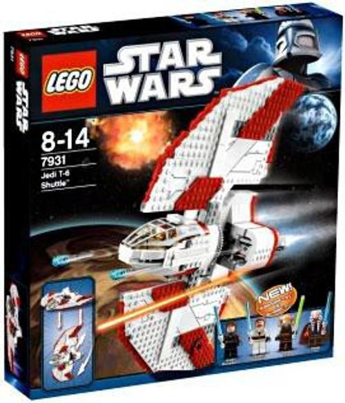 LEGO Star Wars The Clone Wars T-6 Jedi Shuttle Set #7931