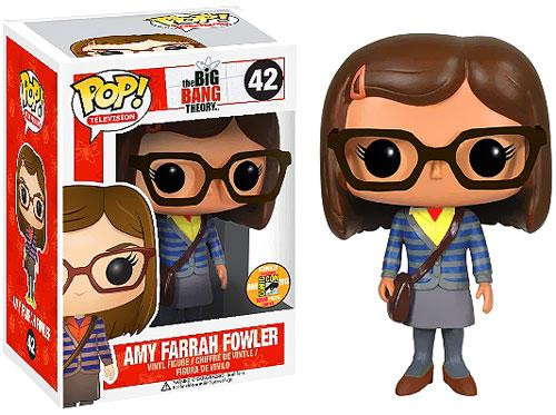 The Big Bang Theory Funko POP! Television Amy Farrah Fowler Exclusive Vinyl Figure #42 [Yellow Shirt]