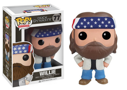 Duck Dynasty Funko POP! Television Willie Robertson Vinyl Figure #77