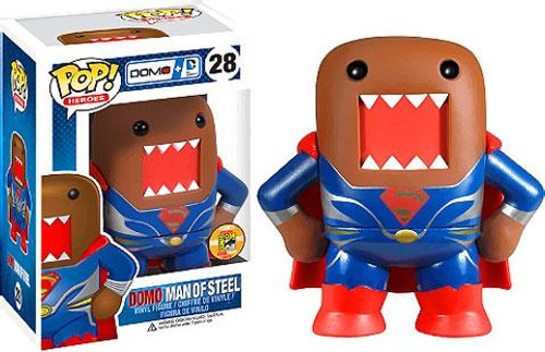 Funko POP! Heroes Domo Man of Steel Exclusive Vinyl Figure #28 [Metallic]