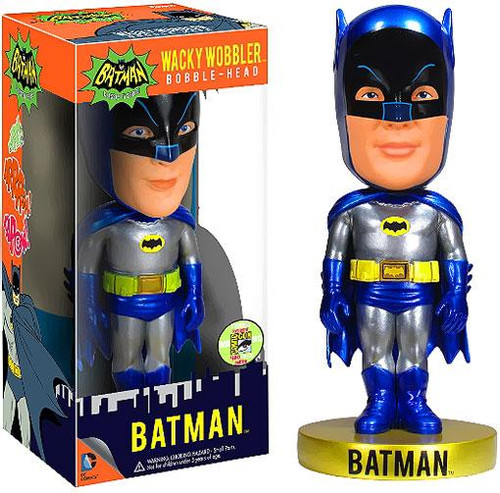Funko 1966 TV Series Wacky Wobbler Batman Exclusive Bobble Head [Metallic]