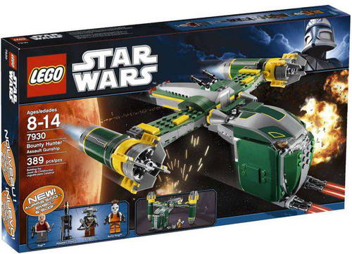 LEGO Star Wars The Clone Wars Bounty Hunter Assault Gunship Set #7930
