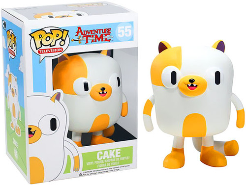 Adventure Time Funko POP! Television Cake Vinyl Figure #55