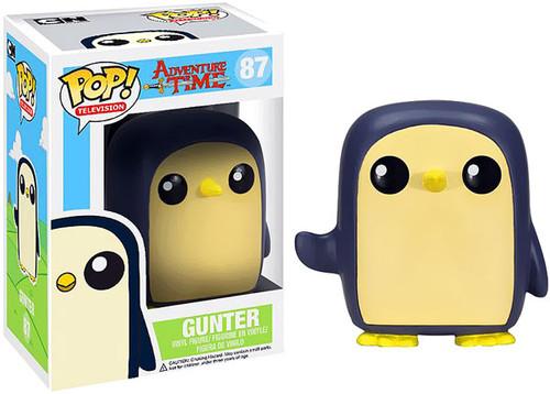 Adventure Time Funko POP! Television Gunter Vinyl Figure #87