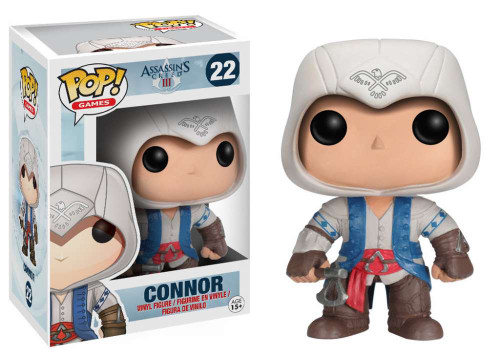 Assassin's Creed Funko POP! Games Connor Vinyl Figure #22