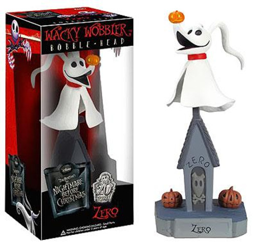 Funko The Nightmare Before Christmas Wacky Wobbler Zero Bobble Head