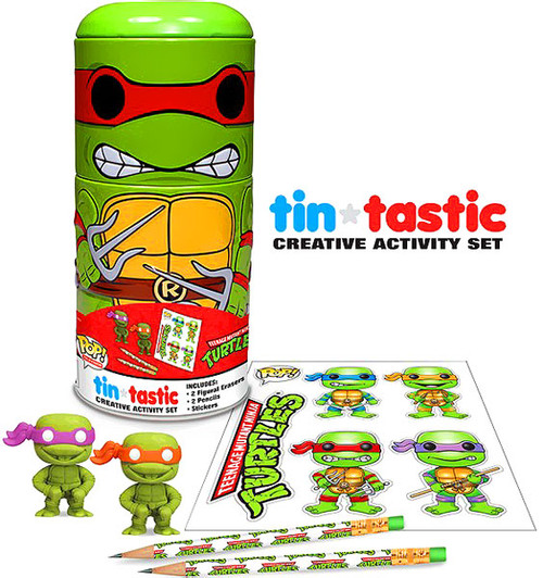 Funko Teenage Mutant Ninja Turtles Tin-Tastic Raphael Activity Set