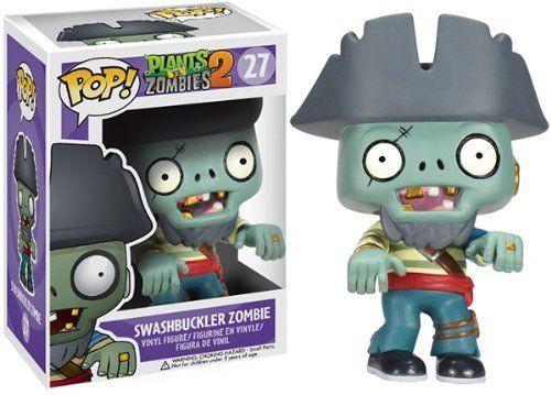 Plants vs. Zombies 2 Funko POP! Games Swashbuckler Zombie Vinyl Figure #27