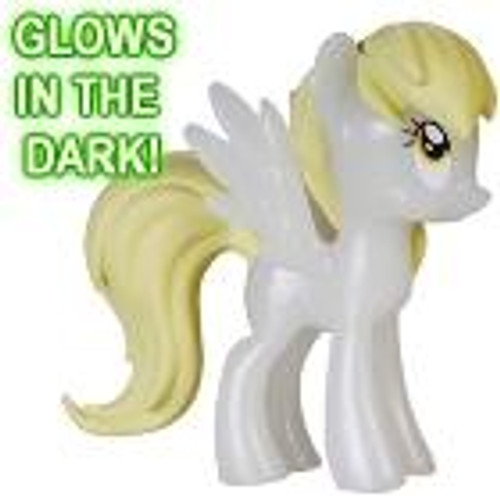 Funko My Little Pony Series 1 Mystery Minis GLOW-IN-THE-DARK Derpy Hooves [Bubbles] Minifigure [Glow in the Dark Loose]