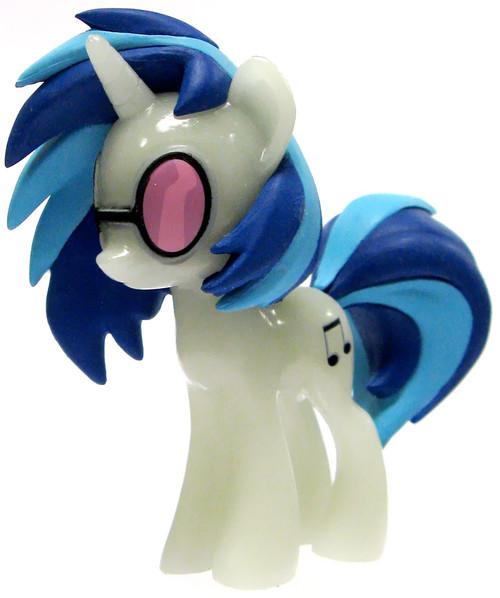 Funko My Little Pony Series 1 Mystery Minis GLOW-IN-THE-DARK DJ P0N-3 [Vinyl Scratch] Minifigure [Glow in the Dark Loose]