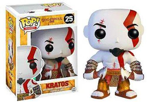 God of War Funko POP! Games Kratos Vinyl Figure #25