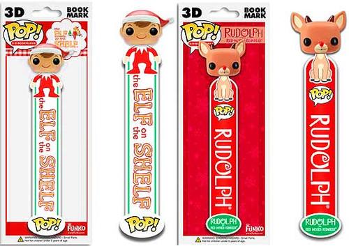 The Elf on the Shelf Funko POP! Holidays Elf & Rudolph Bookmarks