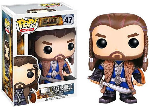 The Hobbit The Desolation of Smaug Funko POP! Movies Thorin Oakenshield Vinyl Figure #47