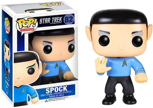 Star Trek The Original Series Funko POP! Television Spock Vinyl Figure #82