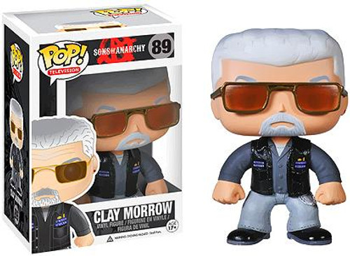 Sons of Anarchy Funko POP! Television Clay Morrow Vinyl Figure #89