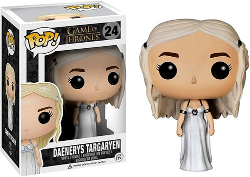 Funko POP! Game of Thrones Daenerys Targaryen Vinyl Figure #24 [Wedding Dress]