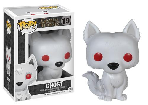 Funko POP! Game of Thrones Ghost Vinyl Figure #19