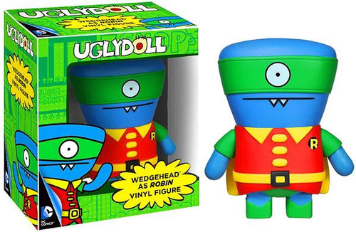 Funko DC Uglydoll Wedgehead as Robin Vinyl Figure