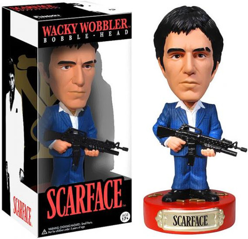 Funko Scarface Wacky Wobbler Tony Montana Bobble Head